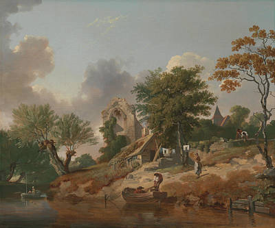 Painting - View On The Medway by Francis Wheatley