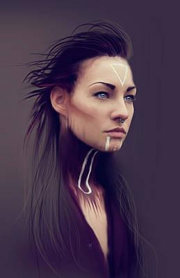 Bluejay Digital Art - Viking by Jason Longstreet