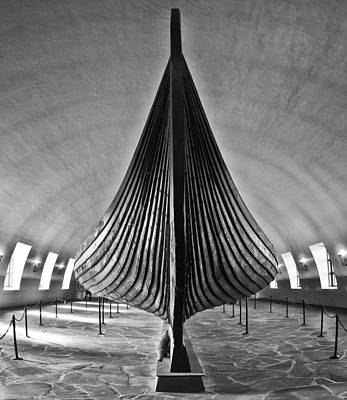 Photograph - Vikingship by A A