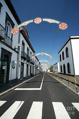 Crosswalk Photograph - Vila Franca Do Campo, Azores by Gaspar Avila