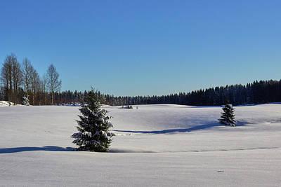 Photograph - Viljakkala Filelds by Jouko Lehto