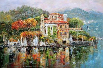 Villa Del Balbianello, Lake Como, Italy Original
