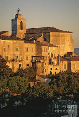 South Of France Photograph - Village De Gordes. Vaucluse. France. Europe by Bernard Jaubert