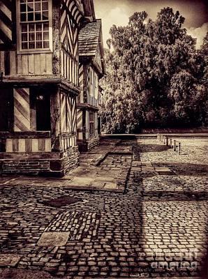 Photograph - Vintage Adlington Hall by Joan-Violet Stretch