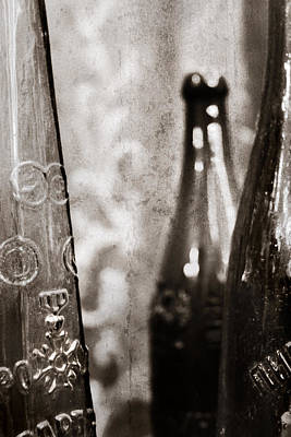 Beer Royalty-Free and Rights-Managed Images - Vintage beer bottles. by Andrey  Godyaykin