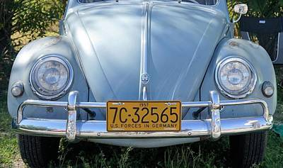 Photograph - Vintage Beetle by Laurie Perry