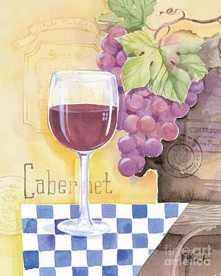 Vintage Cabernet Art Print by Paul Brent