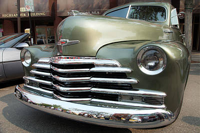 Photograph - Vintage Chevrolet by Theresa Tahara