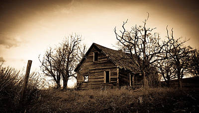 Photograph - Vintage Farm House by Steve McKinzie