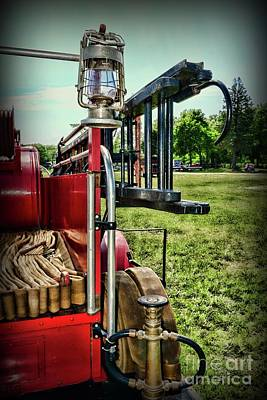 Photograph - Vintage Fire Truck by Paul Ward