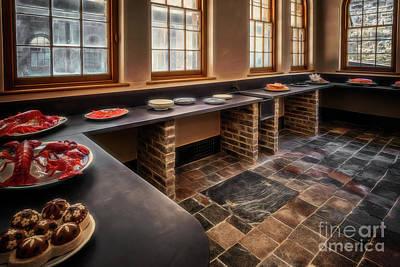 Photograph - Vintage Kitchen by Adrian Evans