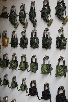 Photograph - Vintage Locks by Sumit Mehndiratta