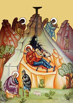Photograph - Vintage Nativity Scene by Munir Alawi