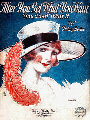 Music Royalty-Free and Rights-Managed Images - Vintage Sheet Music Cover by Art Phaneuf