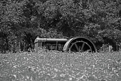 Photograph - Vintage Tractor by Michiale Schneider