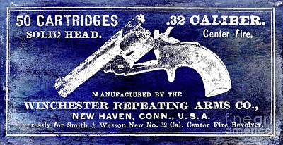 Vintage Winchester Sign Art Print by Jon Neidert
