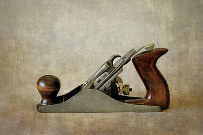 Photograph - Vintage Wood Smoothing Plane by David and Carol Kelly