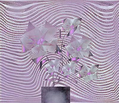 Digital Art - Violet by Iris Gelbart