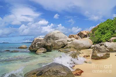 Photograph - Virgin Gorda The Baths  British Virgin Islands by Olga Hamilton