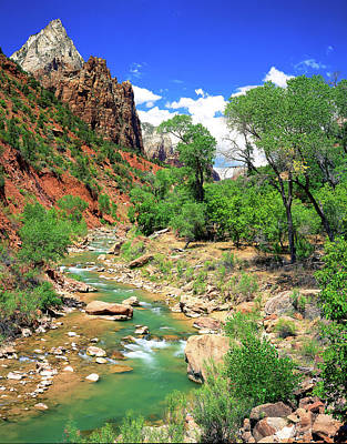 Photograph - Virgin River by Frank Houck