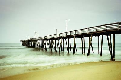 Photograph - Virginia Beach Fishing Pier by Scott Meyer