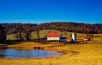 Photograph - Virginia Farm Scene by L O C