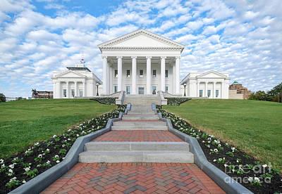 Virginia State Capitol Art Print