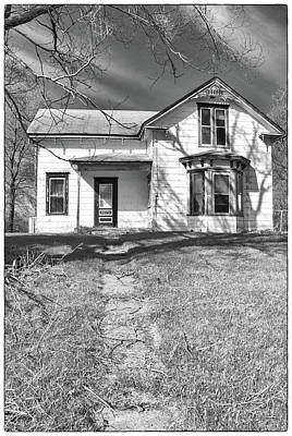 Photograph - Visiting The Old Homestead by Guy Whiteley