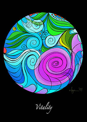 Painting - Vitality by Angela Treat Lyon
