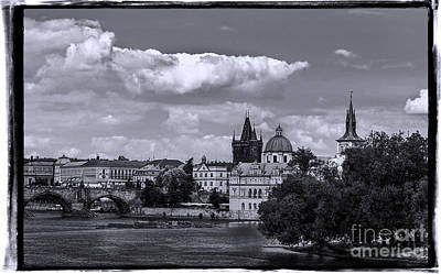 Photograph - Vltava River, Smetana Museum And Novotneho Lavka In Background by Doc Braham
