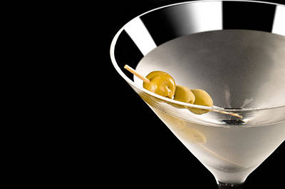 Food And Beverage Photos - Vodka Martini by U Schade