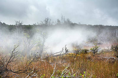 Photograph - Volcanic Steam Vents by Joe Belanger