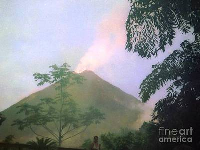 Photograph - Volcanio Arenal  Cost Rica by Ted Pollard