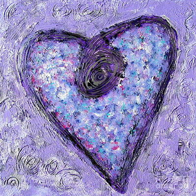 Painting - Vortex Heart by Marlene Rose Besso