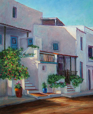 Painting - Voukari Evening by Jill Musser