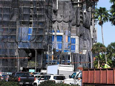 Photograph - Vue Construction Sarasota #5 by Strangefire Art Scylla Liscombe