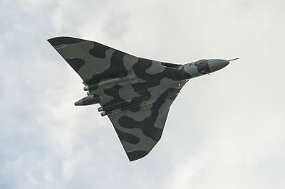 Photograph - Vulcan Heading Home by Gary Eason