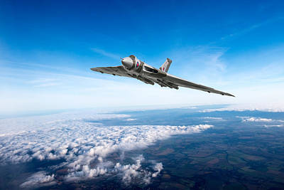 Photograph - Vulcan In Flight by Gary Eason