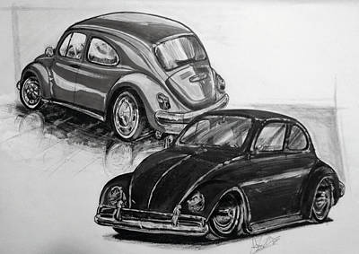 Vw Beetle Original by Antonio Ivens