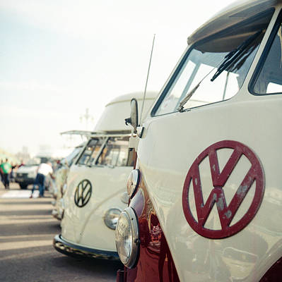 Photograph - Vw Bus  by Will Gudgeon