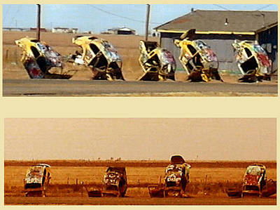Vw Slug Bug Ranch Art Print