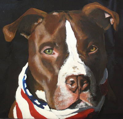 Painting - Wade by Carol Russell