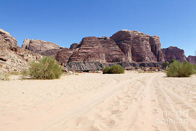 Mid Eastern Woman Photograph - Wadi Rum, Jordan by Gal Eitan