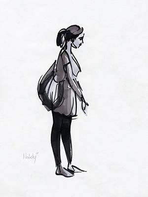 Waiting Original by Natoly Art