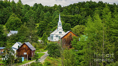 Photograph - Waits River Vermont by Scenic Vermont Photography