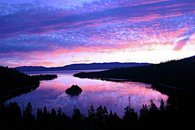 Photograph - Wake Up In Lake Tahoe by Sean Sarsfield