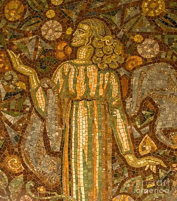 Photograph - Waldorf Astoria Mosaic by Betsy Foster Breen