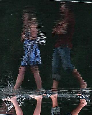 Photograph - Walking On Water by David Coblitz