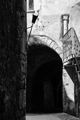 Photograph - Walking Through The Streets Of Pretoro - Italy  by Andrea Mazzocchetti