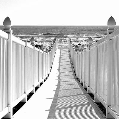 Photograph - Walkway To Beach by Brian Kinney